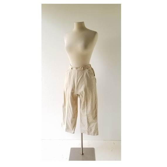 50s Capri Pants | Pedal Pushers | 1950s Pants | 26