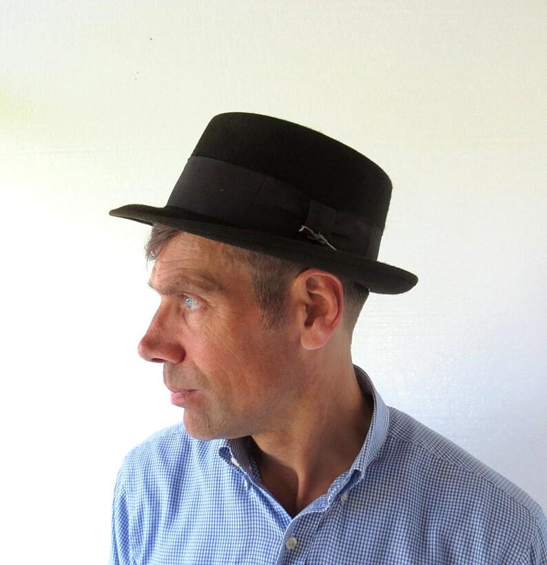 ea273c9d77bb9 Vintage Stetson Fedora 1950s Hat 50s Hat Size 7