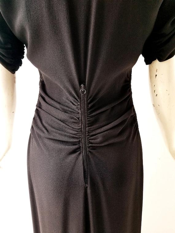 Vintage 30s Gown | a la Schiaparelli | 30s Dress … - image 3