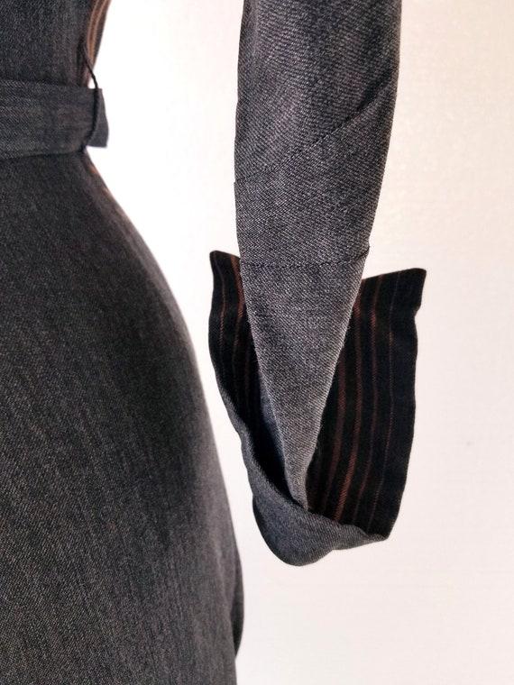 Vintage 1940s Dress | Hildy Dress | 40s Dress | XS - image 5