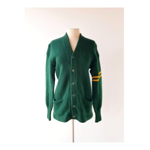 Vintage Varsity Sweater   1950s Sweater   Varsity
