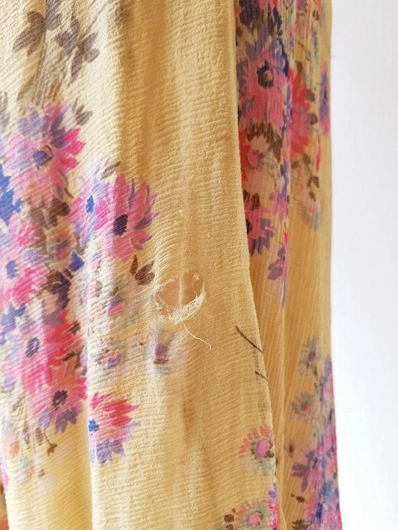 Vintage 1920s Dress | 1920s Floral Dress | 20s Dr… - image 9
