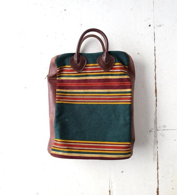 Vintage LL Bean Tote | 1930s Bag | Picnic Tote | R