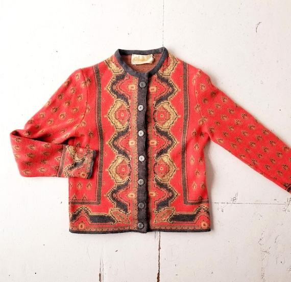 60s Wool Cardigan | Catalina Sweater | 1960s Cardi