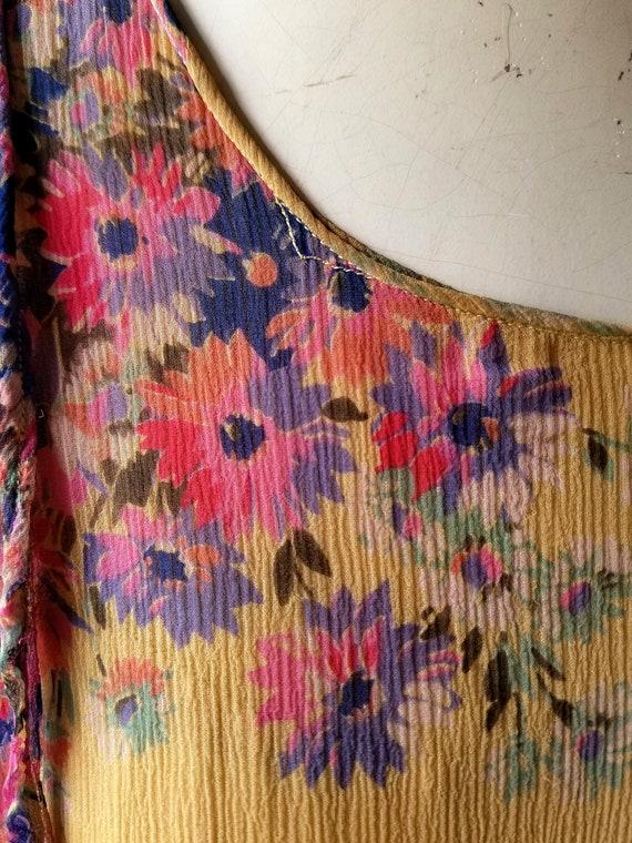 Vintage 1920s Dress | 1920s Floral Dress | 20s Dr… - image 3