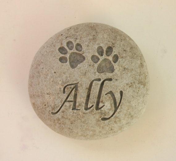 Personalizado Grabado Corazón Pet Memorial Tumba marcador de pizarra Placa loro Ave