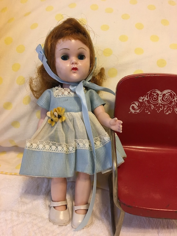 Vintage Ginny Doll /'Ginny On the Go /' Greeting Cards