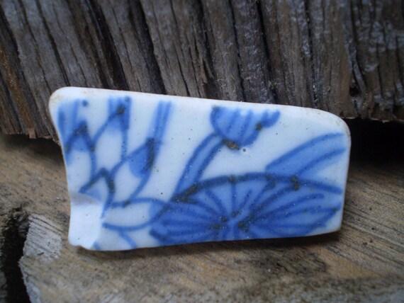 Antique 16th Century Blue Chinese Ming Dynasty Porcelain Beach Shard Ship Wreck Cargo Santo Espirito South Africa Wildcoast Flower Motif