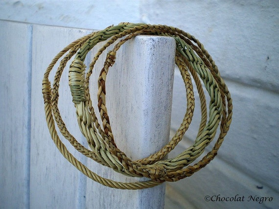 HARVEST -  NATURAL HAND WOVEN REED BRACELETS, COOL,DIFFERENT AND ORGANIC, SOUTH AFRICA