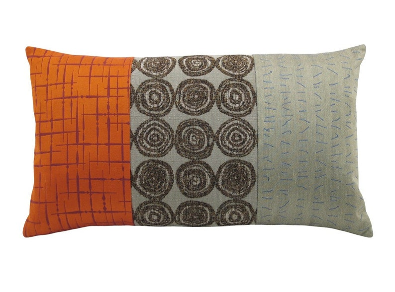 Orange Alchemy's Panes Decorative Pillow 12 x image 0