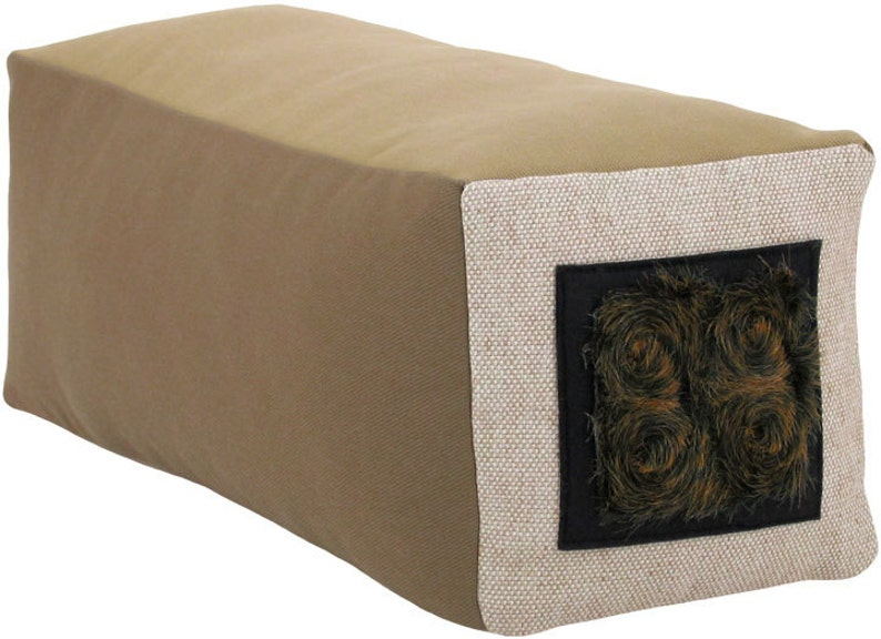 Veliarca Dark Box Bolster Decorative Throw Pillow 6 x 6 x 18 image 0