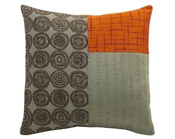 Orange Alchemy Classic Decorative Pillow 17 x 17 inches