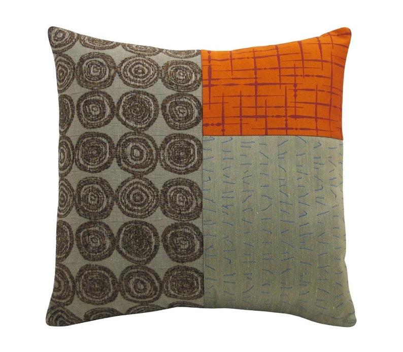 Orange Alchemy Classic Decorative Pillow 17 x 17 inches image 0