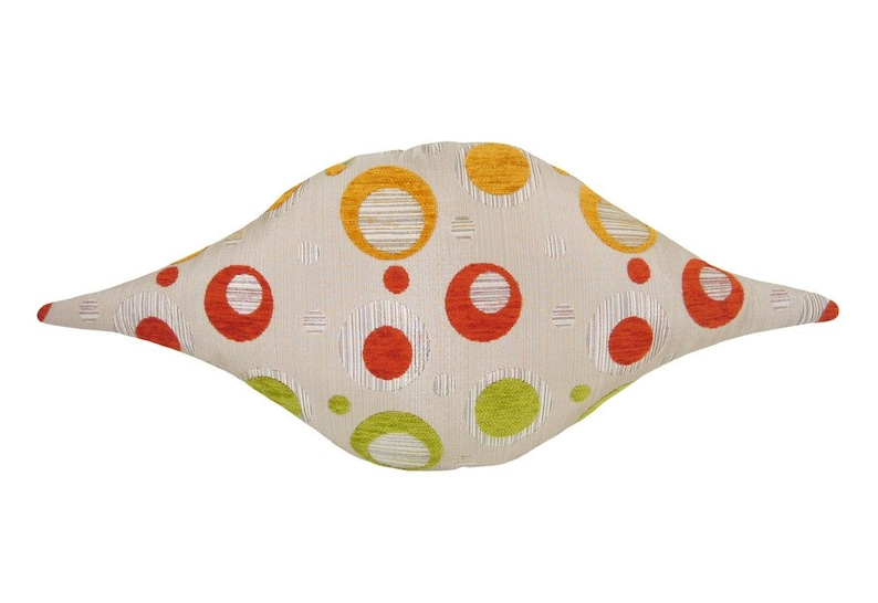 Blip Funky Shaped Modern Decorative Pillow 12 x 24 inches image 0