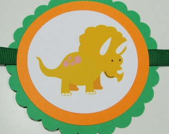 Dinosaur 'Happy Birthday' Banner