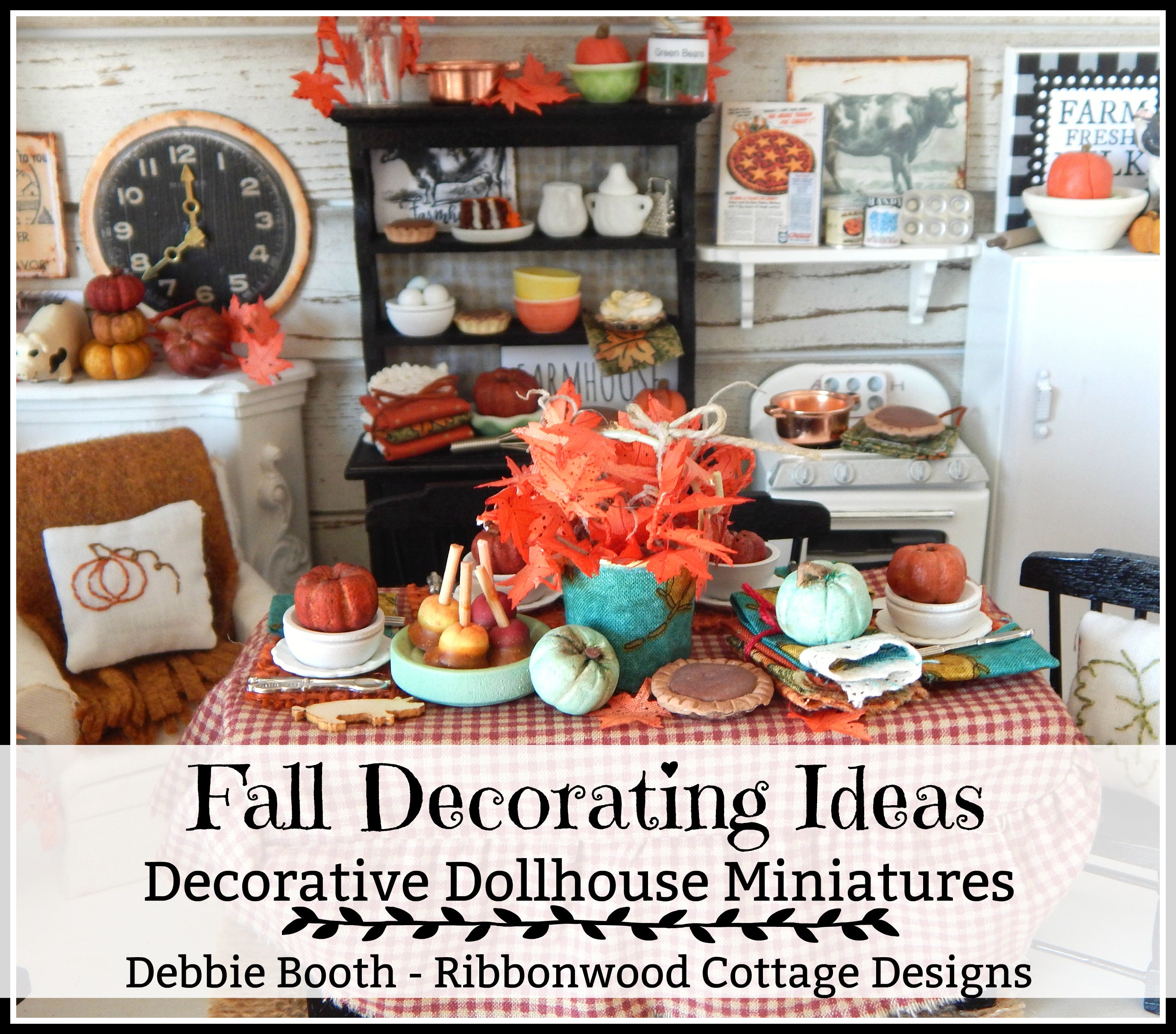 New Fall Decorating Ideas Decorative Dollhouse Miniatures 27 Page