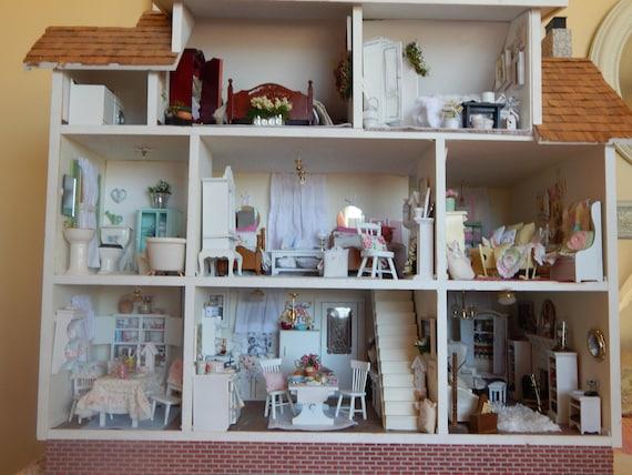 100 Decorating Ideas Decorative Miniature Dollhouse Scale Etsy