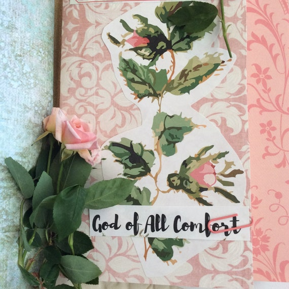 Bible Journaling and Scripture Collection - God's comfort for Your Heart