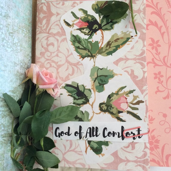 BIBLE JOURNALING Bible Journaling and Scripture Collection - God's comfort for Your Heart