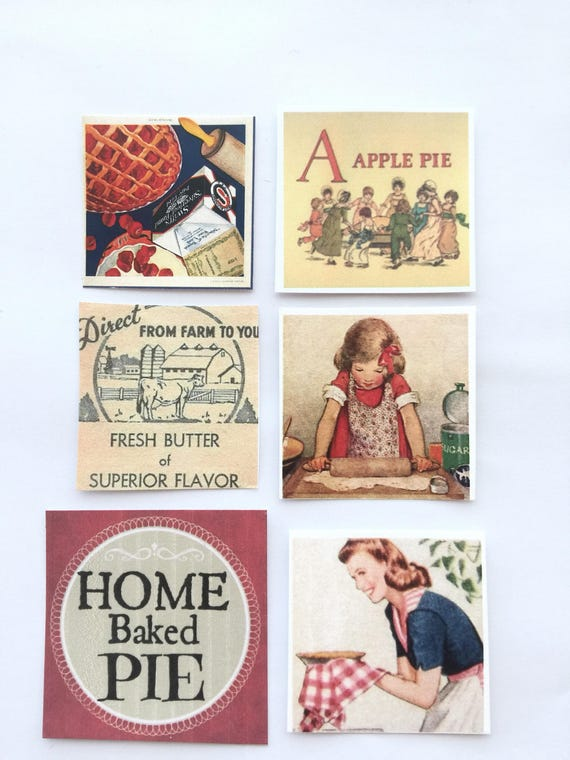 Pie Baking Sign Making Graphics - Destash Sale Miniature Size