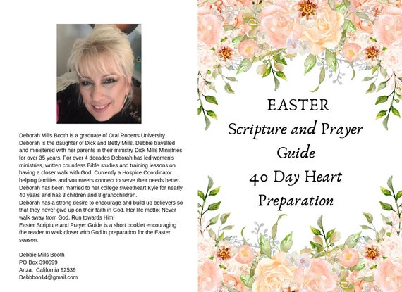 Easter Scripture and Prayer Guide 40 Day Heart Preparation - Ebook Download