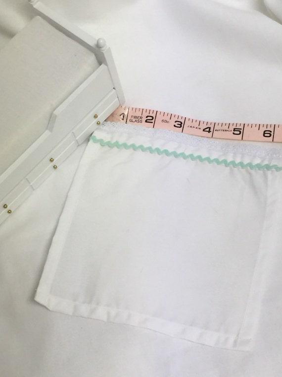 Sale-Miniature Dillhouse flat sheet rick rack embellished 1:12