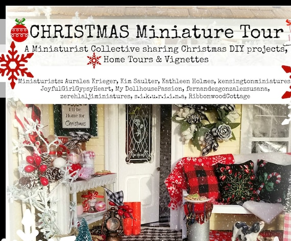 Christmas Miniature Tour - 29 page Miniaturist Collective