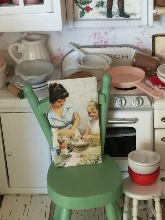 """Cookie baking Vintage Look sign-1""""x2"""""""