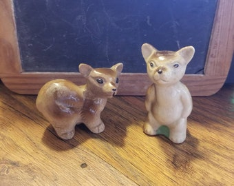 60's, bear salt and pepper shakers, made in Japan