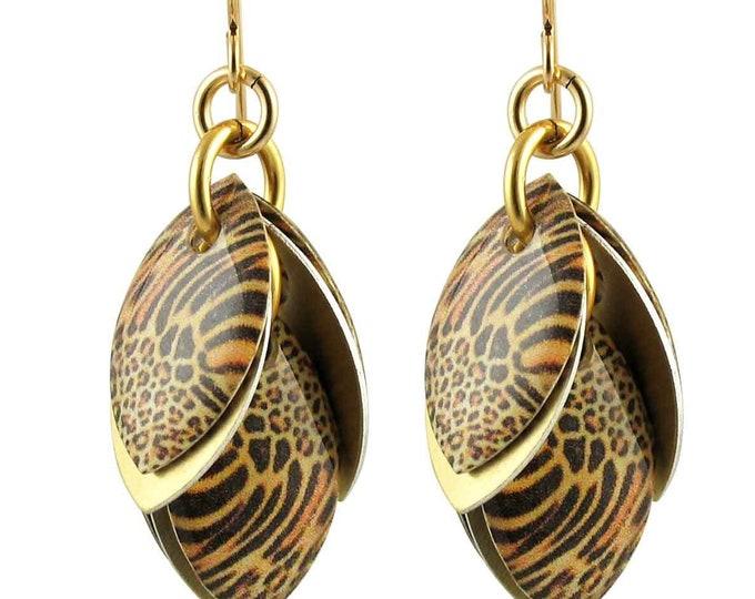 Every Girl Needs a Jaguar Petals to the Metal Dangle Earrings