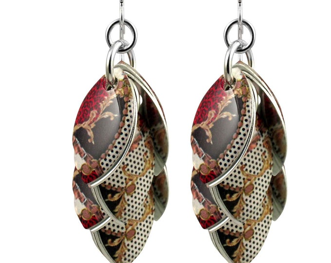 Casual Opulence Dangle Earrings - Available in 3 Lengths