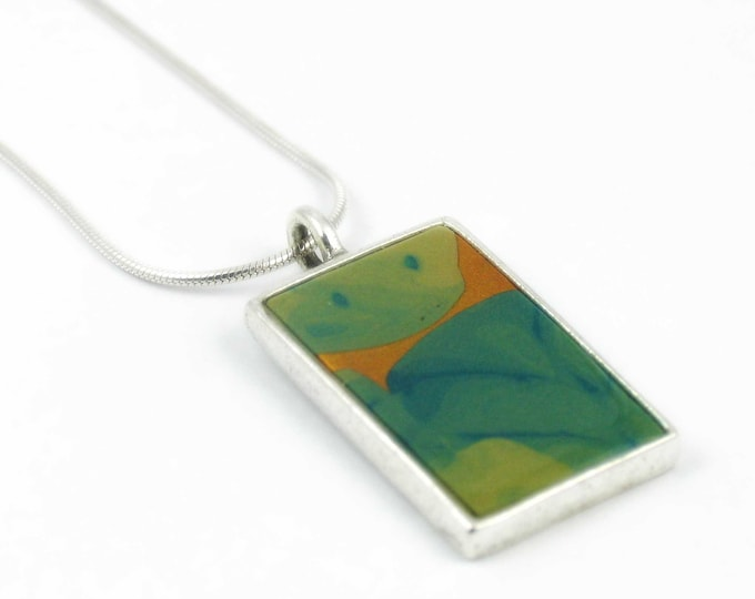 Botanic #1 - Rectangle Pendant