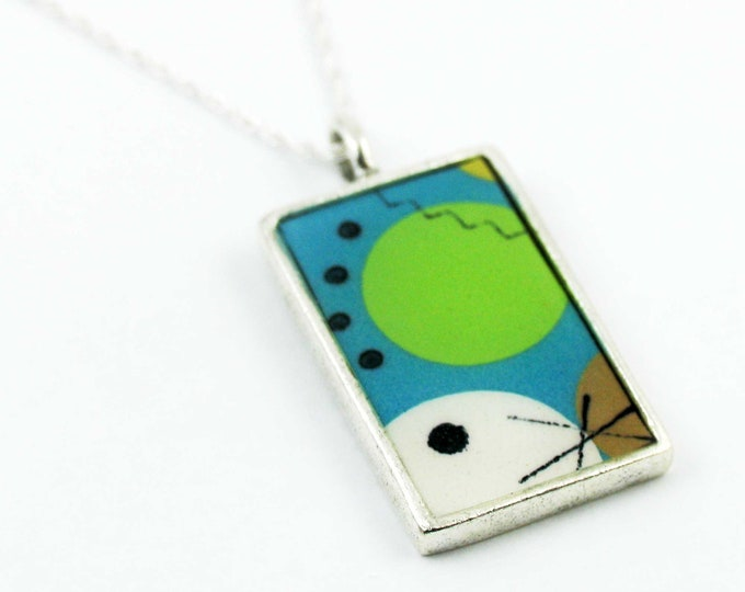 Cosmos #1 - Rectangle Pendant