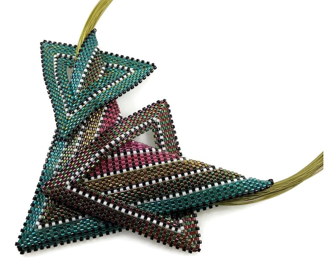 SOLD *** Bouquet Assemblage Necklace