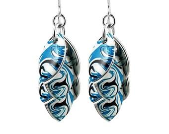 Tidal Wave Earrings