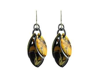Graphik Dangle Earrings