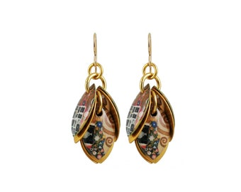 Tree of Life Petals to the Metal Cluster Earrings