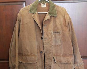 Vintage Super Dux Hamilton Carhartt Hunting Jacket, Duck, Pheasant