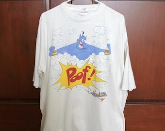 Stanley Desantis Disney Aladdin 1990s T Shirt, Genie Poof