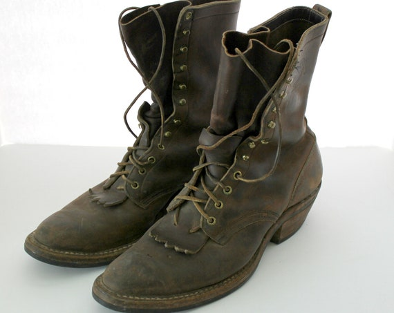 White's Work Boots, Spokane WA Jumper Logger Leather Boots