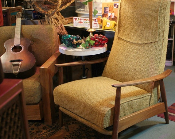 Thayer Recliner Chair by Milo Baughman | Mid Century Furniture