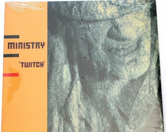 Ministry Twitch LP Record Album Sealed Original 1986 Sire 25309-1 Techno