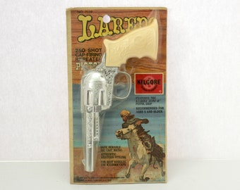 Vintage Kilgore Laredo Pistol Cap Gun Sealed MIP NOS New in Package
