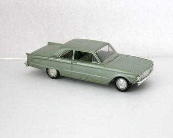 1962 Mercury Comet 2 Door Sedan Friction Model Car Vintage Dealer Promo