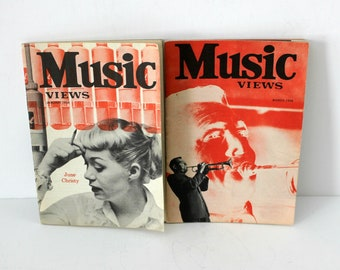 Music Views Magazine Jan March 1958 Ray Anthony June Christy Gene Vincent