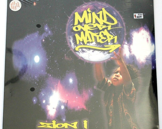 Zion I Mind Over Matter 2x LP Sealed Vinyl Record Album 2000 Ground Control Rap Hip Hop