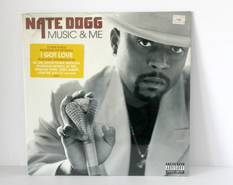 Nate Dogg Music & Me Sealed Record LP Album, 2001 Elektra, Rap, Hip Hop w/ Hype Sticker