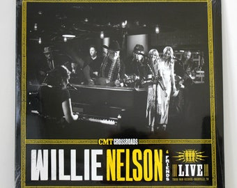 Willie Nelson & Friends Live LP Record New Sealed, CMT Crossroads TMR 228 The Vault