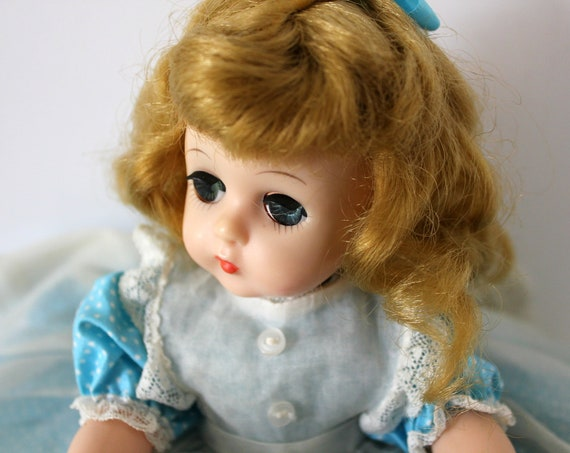 "Vintage Madame Alexander Amy Little Women Doll, 11"" Jointed, Sleep Eyes"