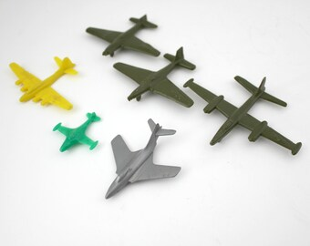 1950s Plastic Airplanes Cereal Premium Toys, Marx, Miliary, B-17 Flyin Fort, Cougar, F9F Panther